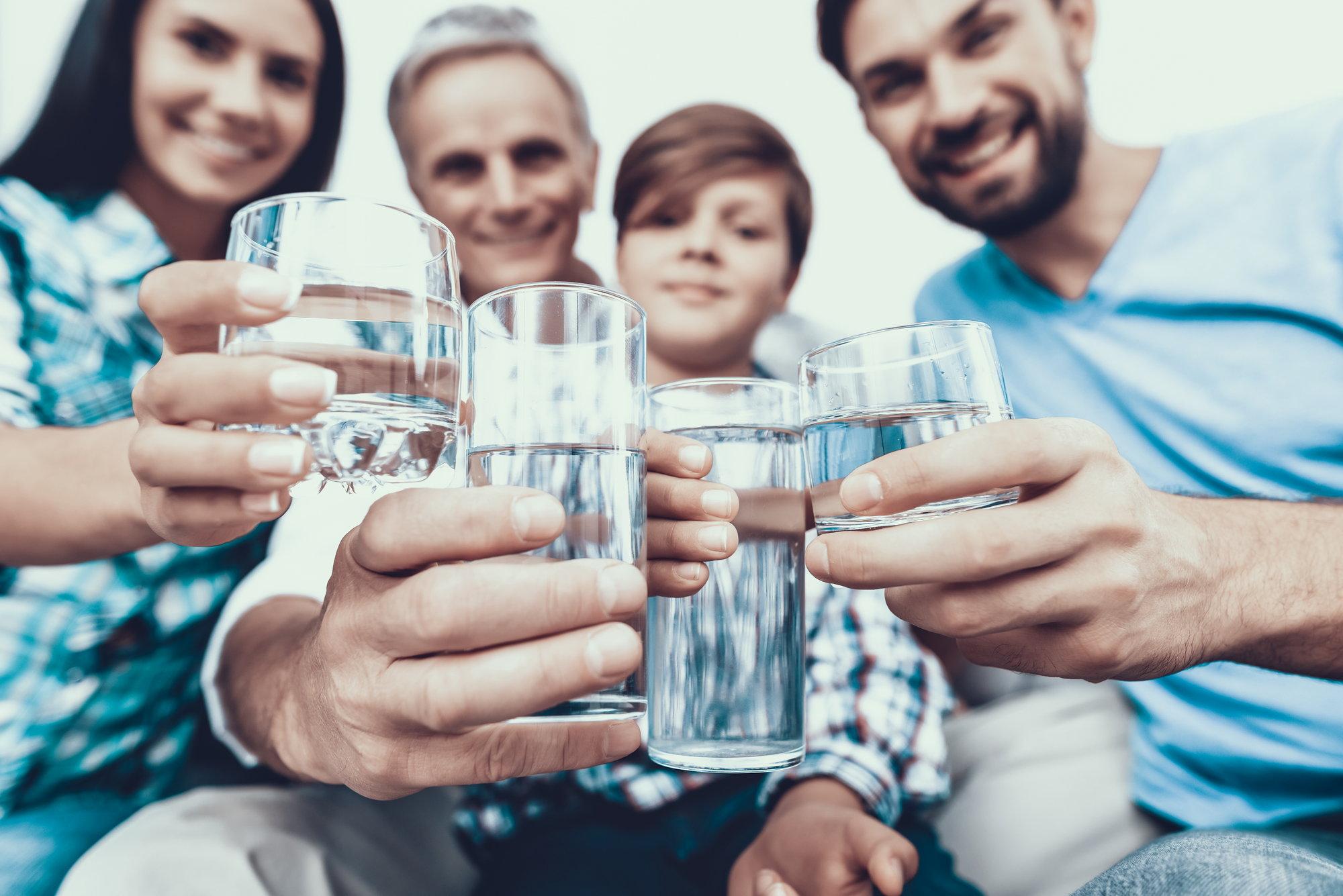 woda ze studni dla rodziny